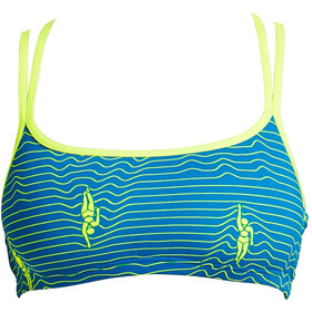 Funkita Criss Cross Top Ladies Ripple Effect